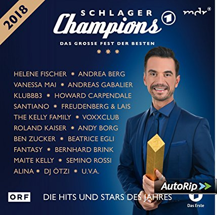 CD Cover Schlagerchampions