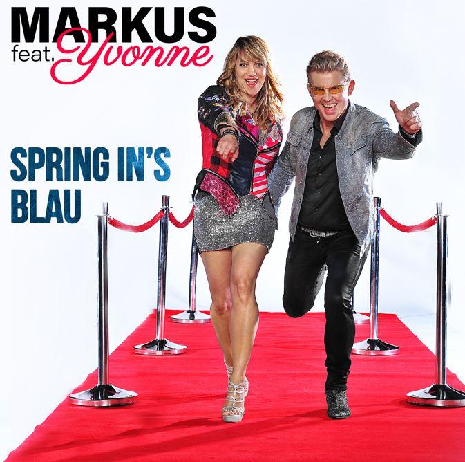 CD Cover Spring ins Blau