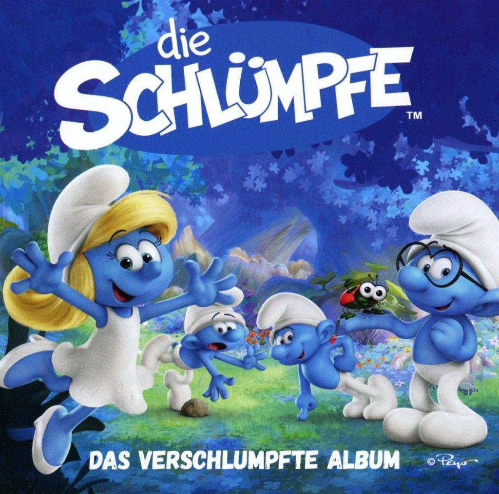 CD Cover Das verschlumpfte Album