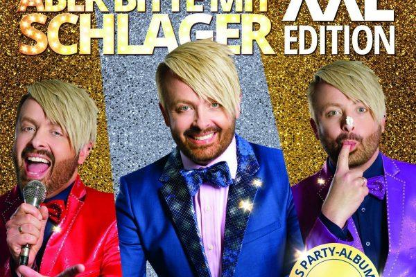 CD Cover Aber bitte mit Schlager XXL