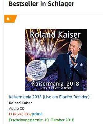 Kaisermania Charts Amazon