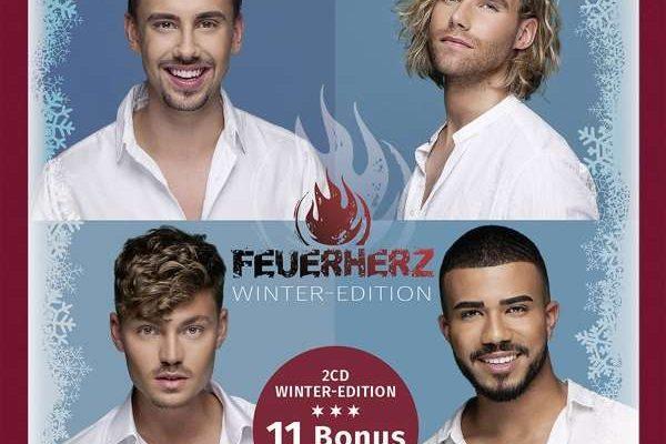 CD Cover Feuerherz Winter Edition