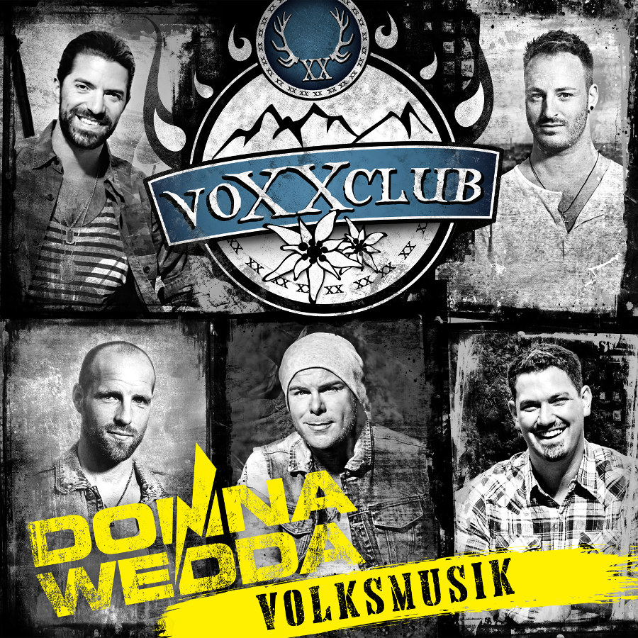 CD Cover Voxxclub Donnawedda Volksmusik