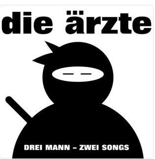 CD Cover Drei Mann zwei Songs