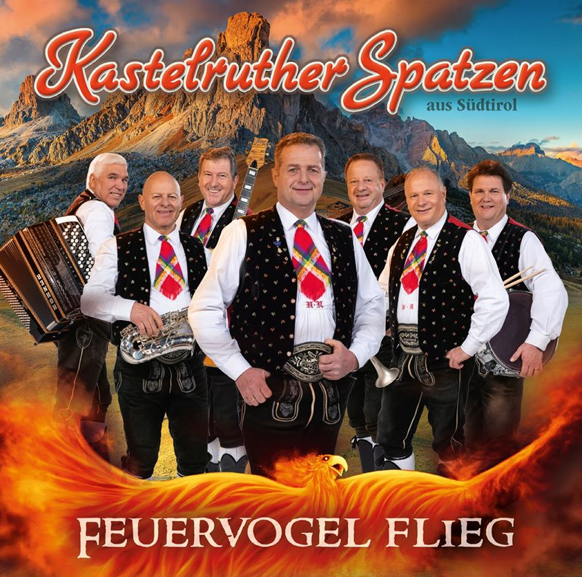 CD Cover Feuervogel flieg