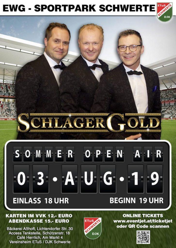 Schlagergold Sommer Open Air Schwerte