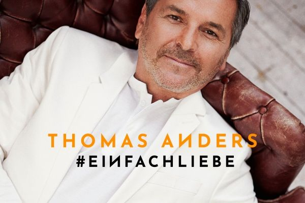 CD Cover Einfach Liebe Thomas Anders