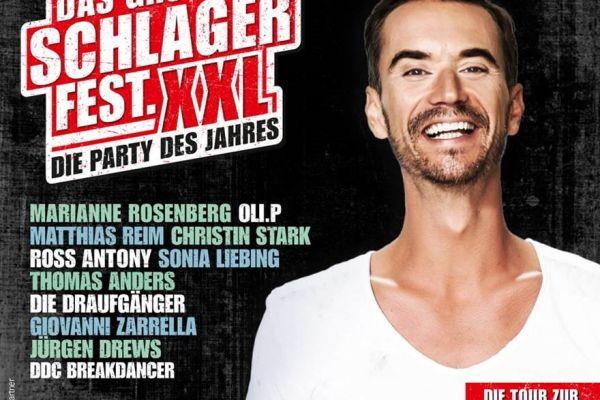 Tourplakat 2020 Silbereisen Schlagerparty XXL