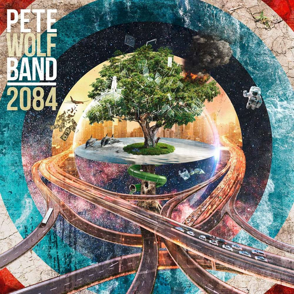 Pete Wolf Band 2084 Cover opt