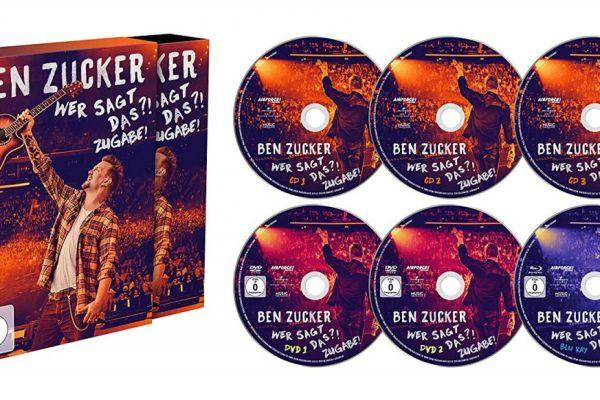 Ben Zucker Wer sagt das Zugabe Super Deluxe