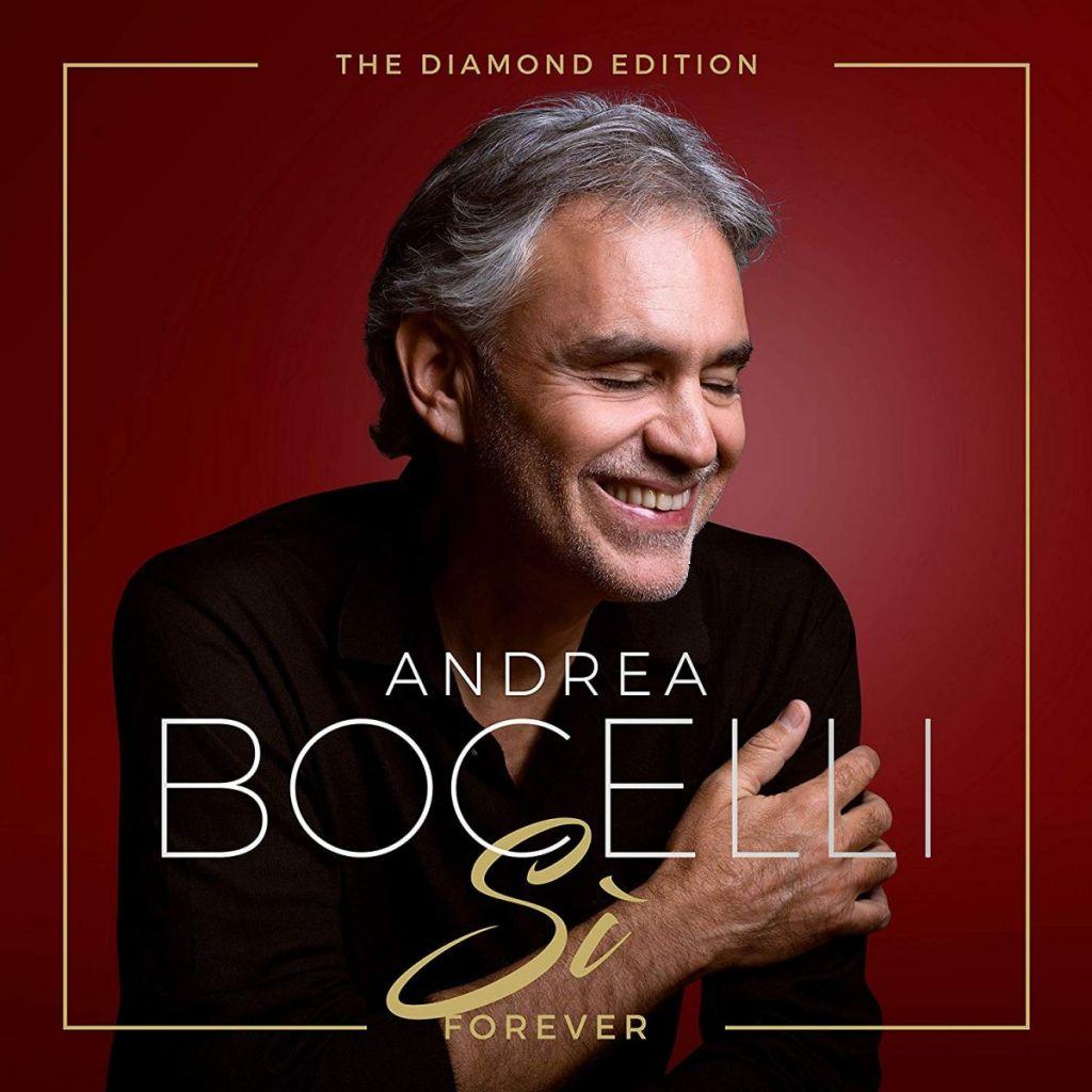 CD Cover Bocelli Si