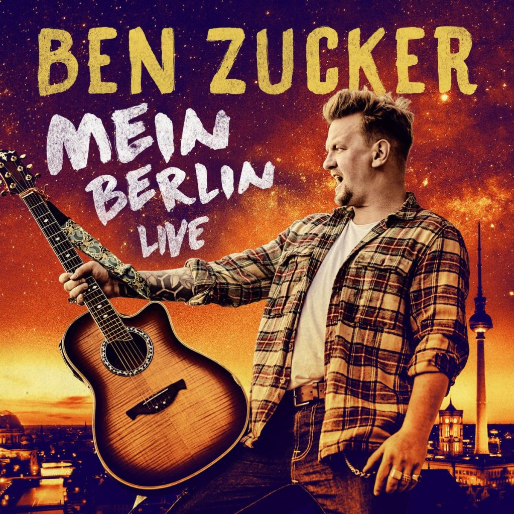 CD Cover Mein Berlin Live