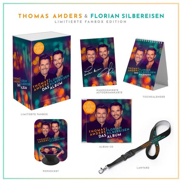 CD Cover Silbereisen Anders das album limitierte fanbox edition