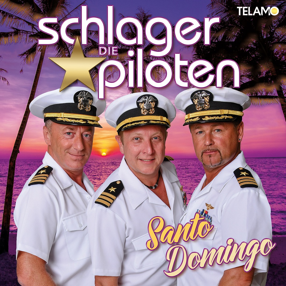 CD Cover Schlagerpiloten SantoDomingo