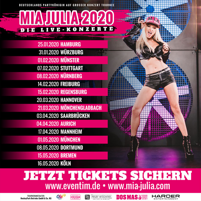 mia julia tour 2020