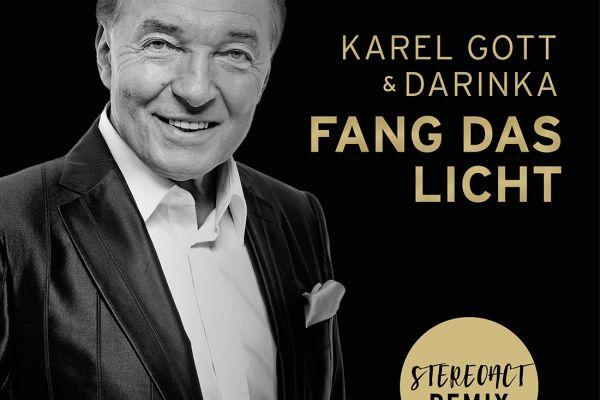 CD Cover Fang das Licht Karel Gott Darinka Stereoact