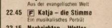 19700320 BRAVO Katja die Stimme ZDF