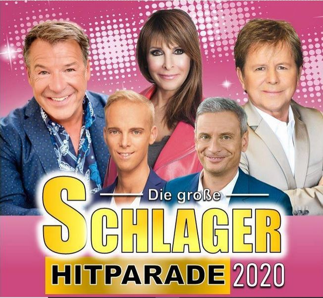 Schlager Hitparade Plakat