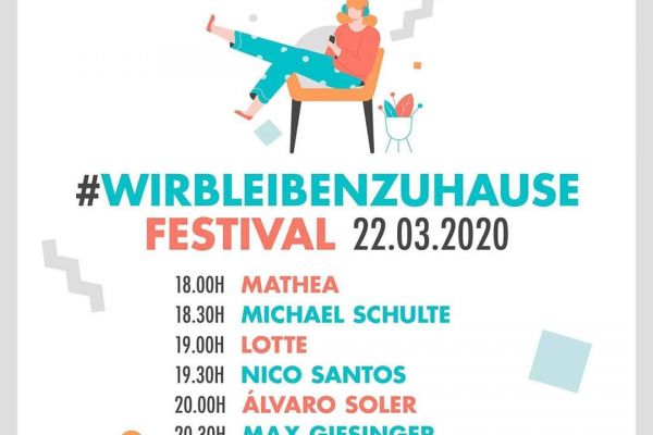 WIr Bleiben ZU Hause Festival