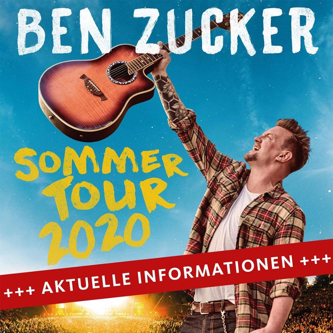 Ben Zucker Sommertour 2020