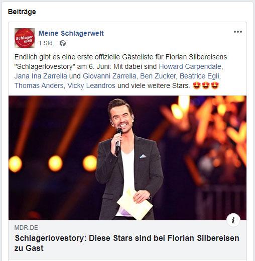 Florian Silbereisen Meine Schlagerwelt