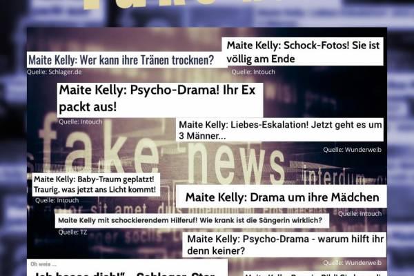 Maite Kelly Fake News