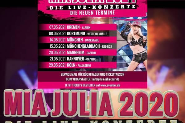 Mia Julia Konzerte 2020