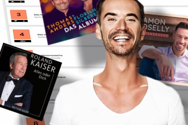 Florian Silbereisen – Charts
