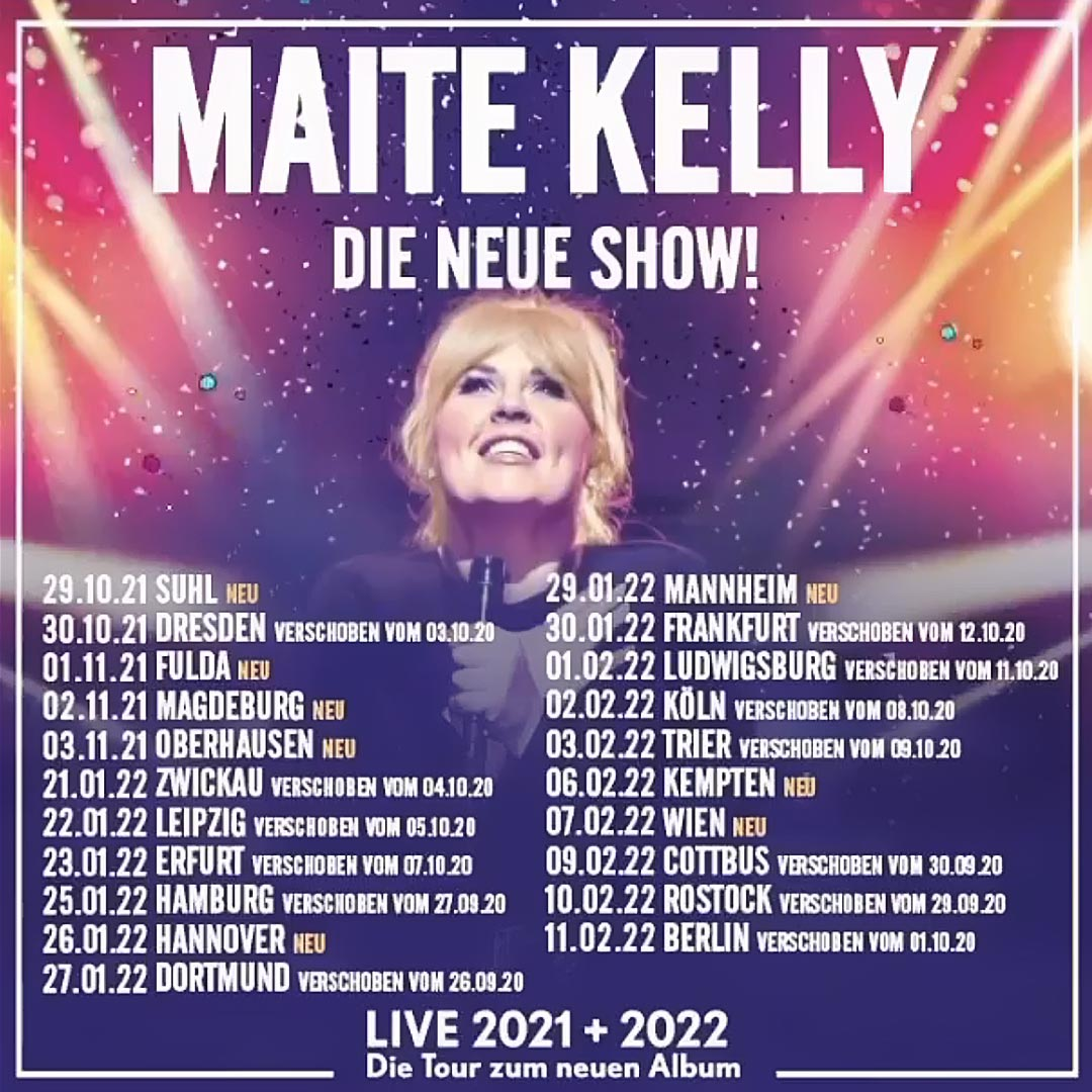 Maite Kelly Tour