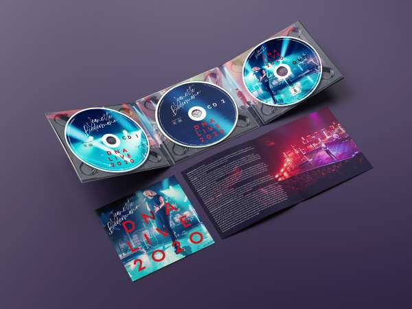 Digipack DNA Live 2020