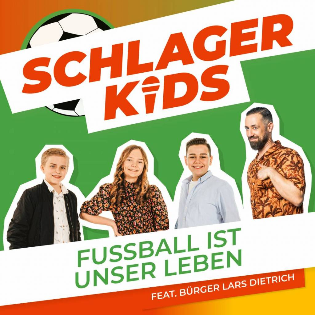CD-Cover Schlagerkids Bürger Lars Dietrich
